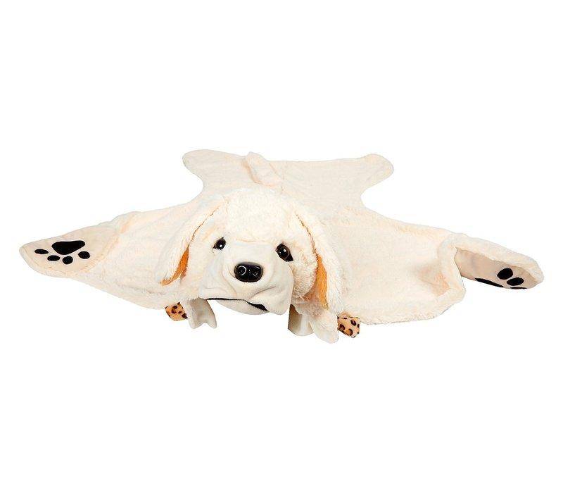 Souza! Labrador Verkleeddeken Gebroken Wit