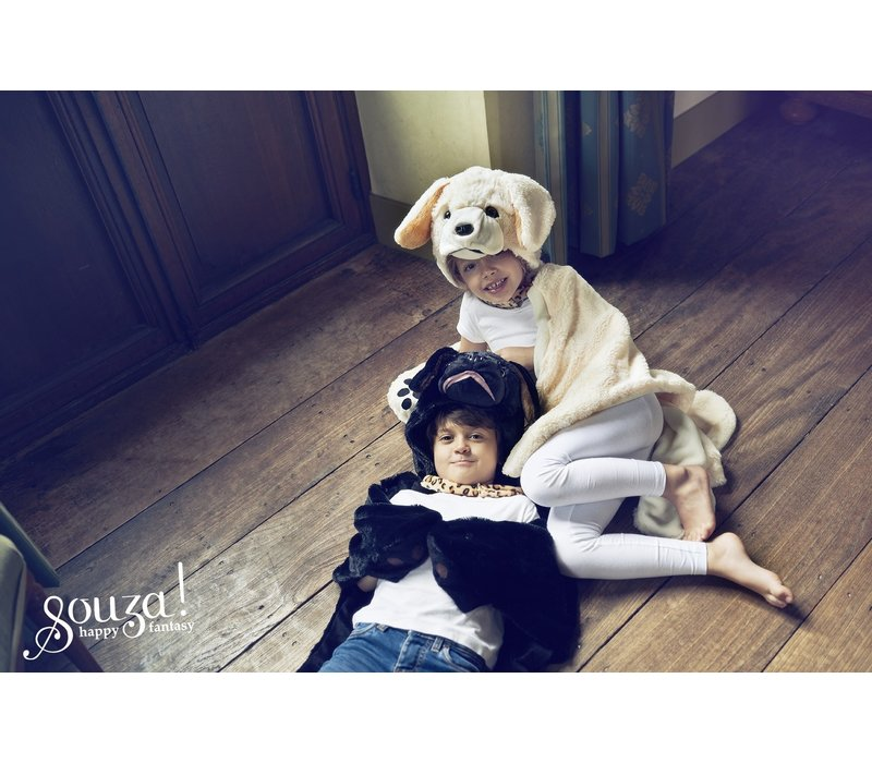 Souza! Labrador Costume Outfit and Blanket Off White