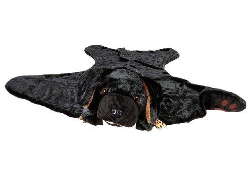 Souza! Souza! Labrador Costume Outfit and Blanket Black