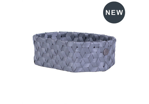 Handed By Handed By Dimensional Oval Basket Dark Grey XS