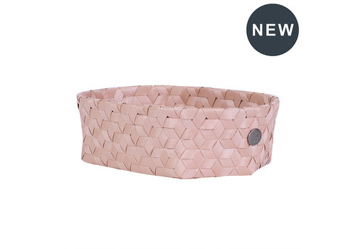 Handed By Handed By Dimensional Open oval basket copper blush size XS