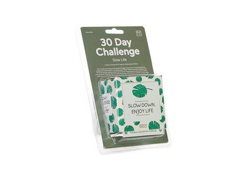 Doiy Doiy 30 day Challenge Slow Life