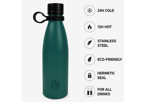 Legami Legami Hot & Cold Isoleerfles Petrol Blauw 500 ml