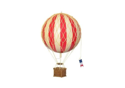 Authentic Models Authentic Models Hot Air Balloon True Red 18 cm