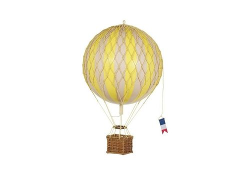 Authentic Models Authentic Models Hot air Balloon True Yellow 18 cm