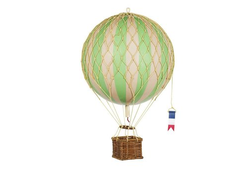 Authentic Models Authentic Models Hot air Balloon True Green 18 cm