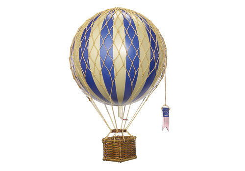 Authentic Models Authentic Models Luchtballon Blue 18 cm