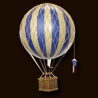 Authentic Models Luchtballon Blue 18 cm