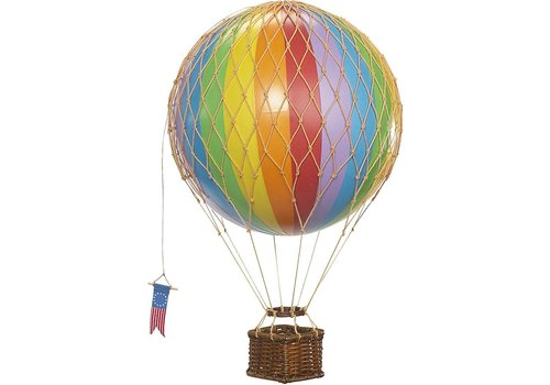 Authentic Models Authentic Models Hot air Balloon  Rainbow 18 cm