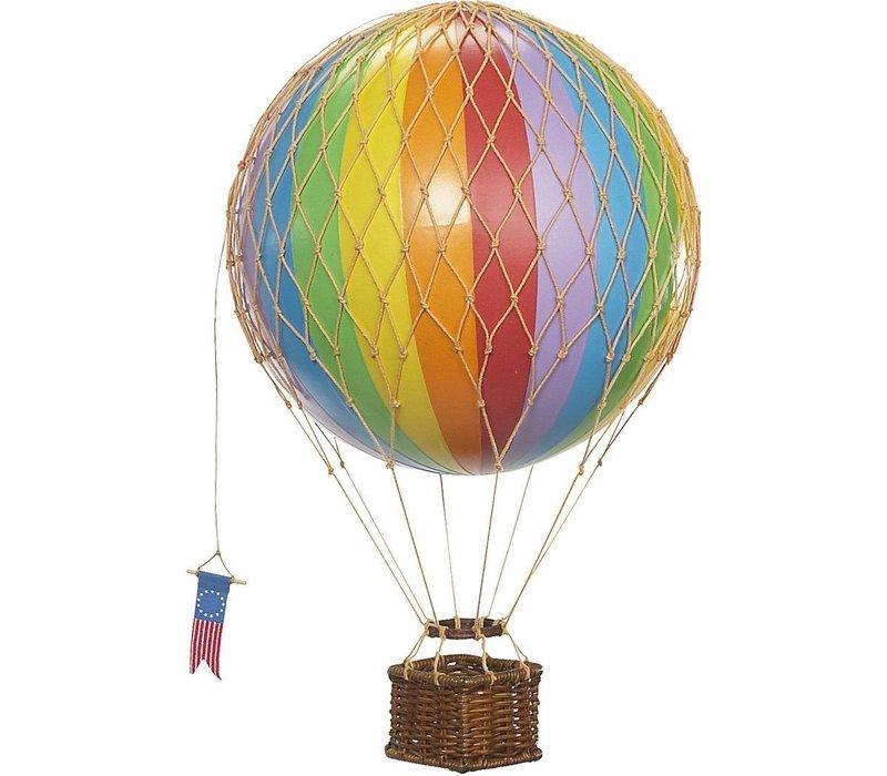 Authentic Models Luchtballon  Rainbow 18 cm