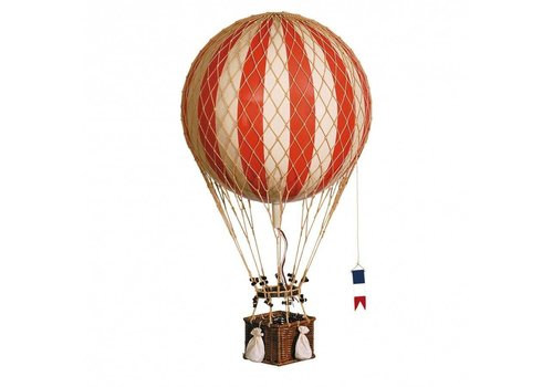 Authentic Models Authentic Models Hot air Balloon  Royal Aero True Red 32 cm