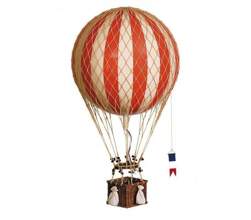 Authentic Models Hot air Balloon   Royal Aero  True Red 32 cm