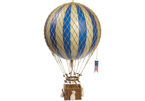 Authentic Models Authentic Models Hot air Balloon  Royal Aero Blue 32 cm