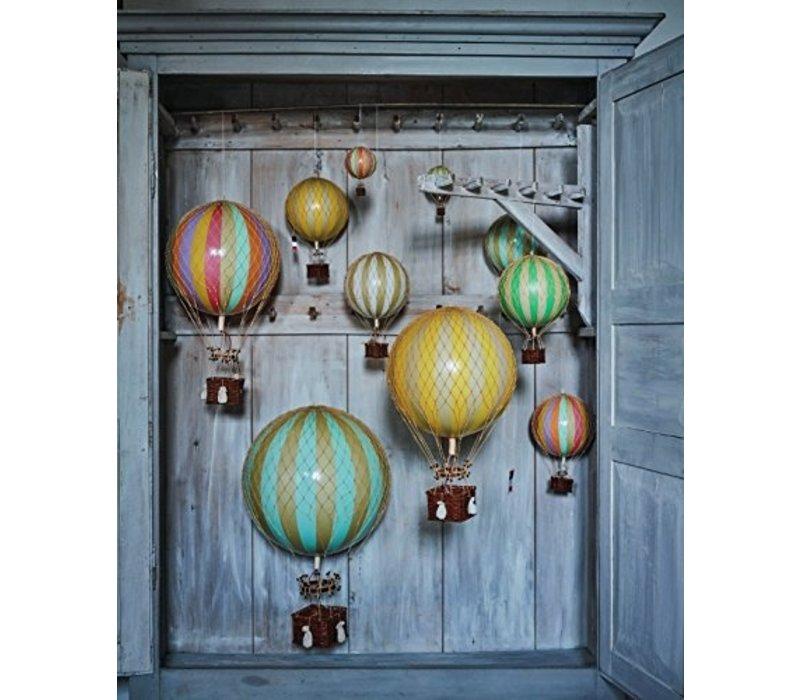 Authentic Models Hot air Balloon   Royal Aero   Pastel Rainbow 32 cm