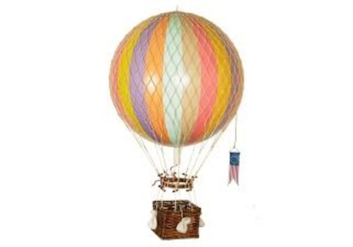 Authentic Models Authentic Models Hot air Balloon  Royal Aero  Pastel Rainbow 32 cm