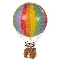 Authentic Models Hot air Balloon  Jules Verne Rainbow 42 cm