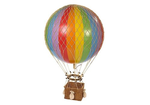 Authentic Models Authentic Models Hot air Balloon Jules Verne Rainbow 42 cm