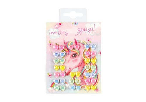 Souza! Souza! Ear Jewellery Unicorn Hearts