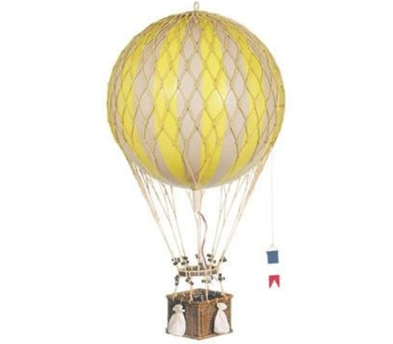 Authentic Models Luchtballon   Royal Aero Pastel True Yellow 32 cm