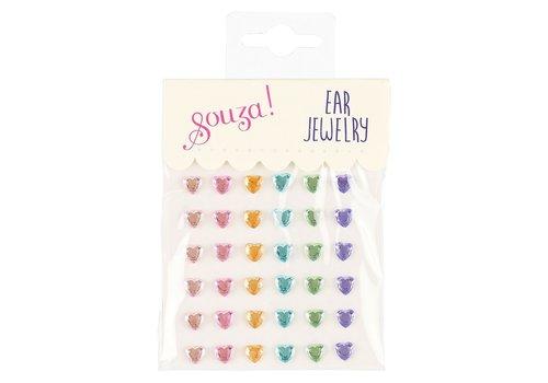 Souza! Souza! Ear Jewellery Hearts