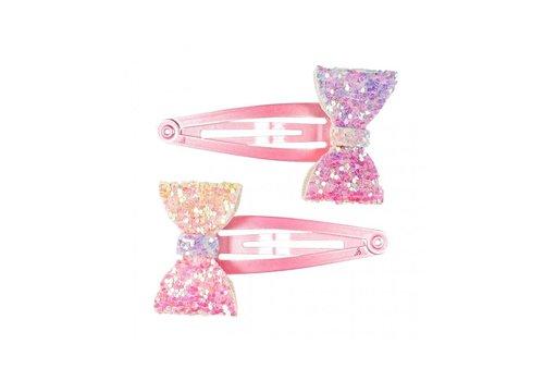 Souza! Souza! Haarclips Giulia Regenboog Glitters 2 st