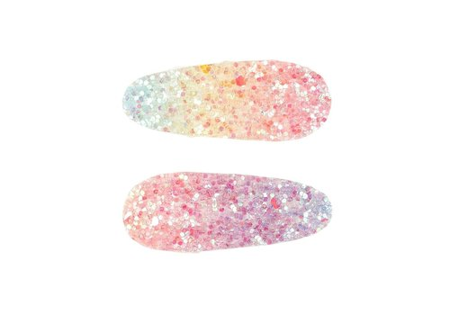 Souza! Souza! Hair Clips Soline Rainbow Glitters 2 pcs