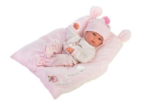 LLorens LLorens  Babydoll Rosa 35 cm