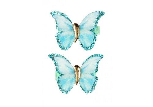 Souza! Souza! Hair Clips Hilde Butterfly Mintgreen 2 pcs