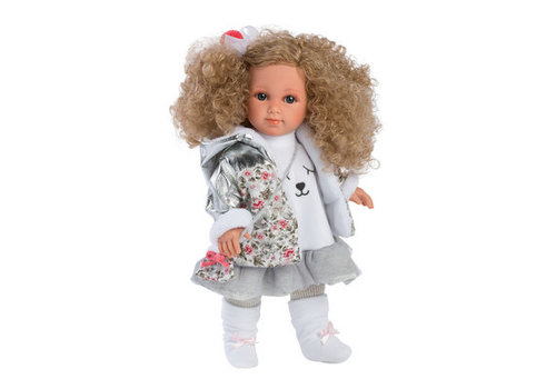 LLorens LLorens Doll Elena With Curly Hair 38 cm