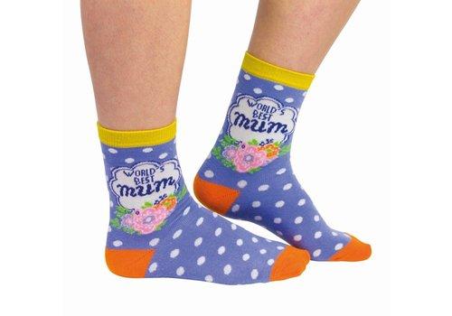Odd Socks ODD Socks Damessokken Worlds Best Mum