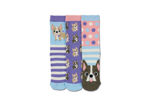 Odd Socks ODD Socks Woof Set met 3 Sokken maat 30 - 38