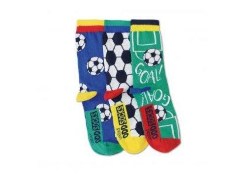 Odd Socks ODD Socks Voetbal Set met 3 Sokken maat 30 - 39