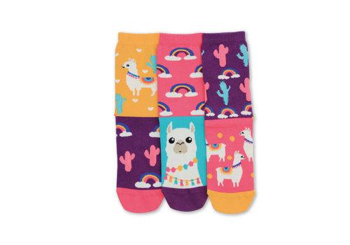 Odd Socks ODD Socks Lama Set met 3 Damessokken maat 37 - 42