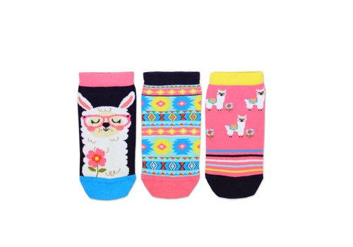 Odd Socks ODD Socks Liner Sokken Lama 3 Stuks maat 30 - 38