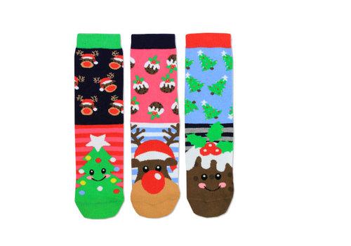 Odd Socks ODD Socks Sokken Kerst 3 Stuks maat 30 - 38