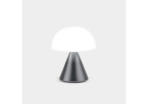 Lexon Lexon Mina Mini LED licht Metaalgrijs