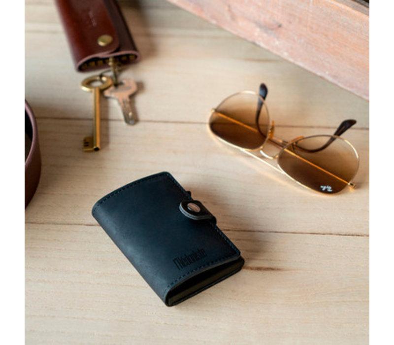 Balvi Credit Card Holder L'Hedoniste Leatherette Black