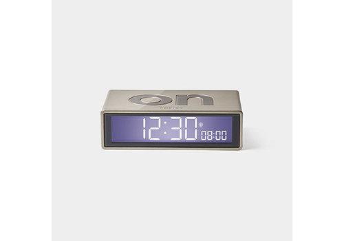 Lexon Lexon Flip Alarm Clock Glossy Light Gold