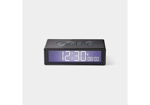 Lexon Lexon Flip Alarm Clock Glossy Gun Metal