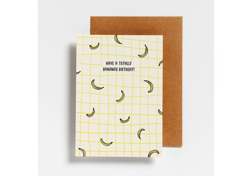 Hello August Hello August Postcard Have a Totally Bananas Birthday