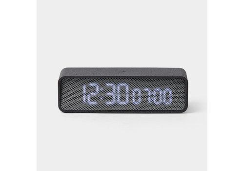 Lexon Lexon Oslo Time Alarm Clock Grey/Grey