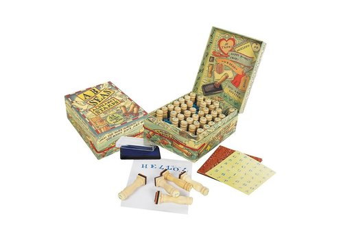 Authentic Models Authentic Models A-B-C Seas Stamp Set