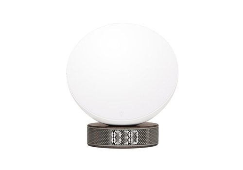 Lexon Lexon Miami Sunrise Clock & Light White/Wood