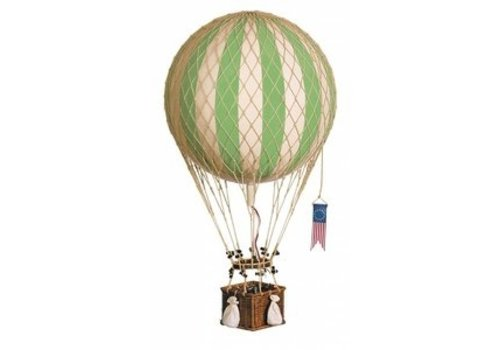 Authentic Models Authentic Models Hot air Balloon   Royal Aero True Green 32 cm