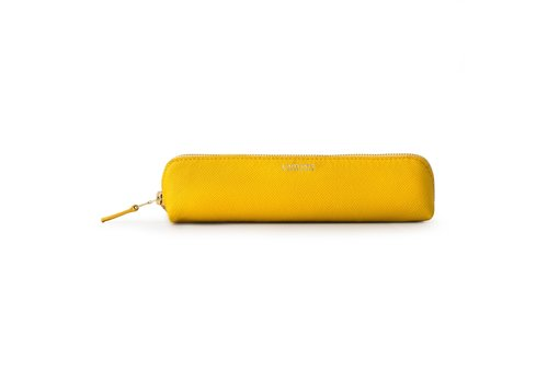 Printworks Printworks Pencil Case Leather Yellow