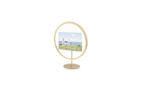 Umbra Umbra Infinity Photo Display 10 x 15 Mat Brass