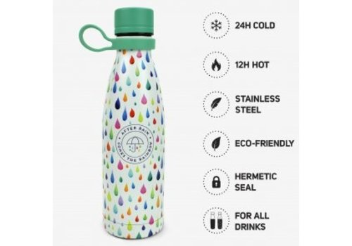 Legami LEGAMI HOT&COLD - VACUUM BOTTLE - AFTER RAIN