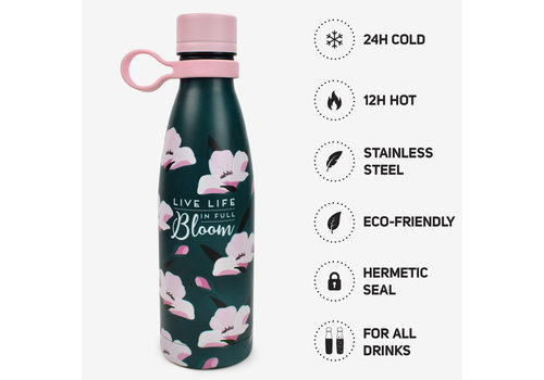 Legami LEGAMI HOT&COLD - VACUUM BOTTLE - FLOWER BLOOM