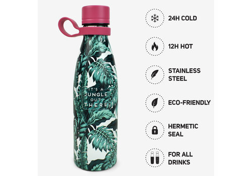 Legami LEGAMI HOT&COLD - VACUUM BOTTLE - JUNGLE