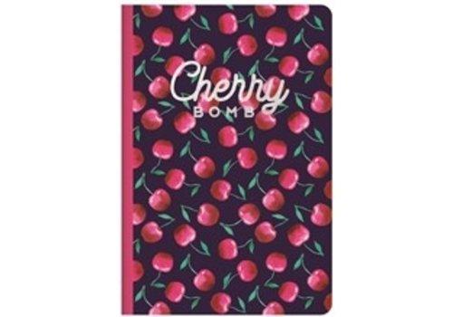 Legami Legami Quaderno A5 Medium Plain Notebook Cherry Bomb